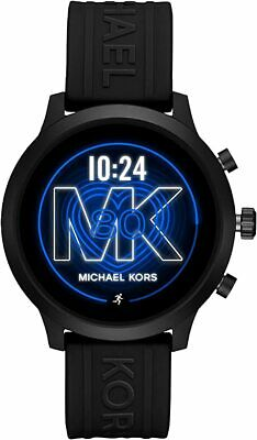 Michael Kors Gen 4 MKGO Touchscreen Black Heart Rate GPS 43mm SmartWatch MKT5072