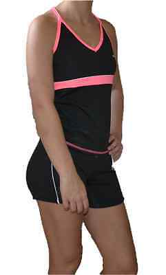 Womens BB sports 2 piece set TOP and bottom sportswear color pink SZ S NWT