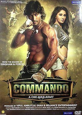COMMANDO: A ONE MAN ARMY (2013) VIDYUT JAMWAL, POOJA - BOLLYWOOD DVD