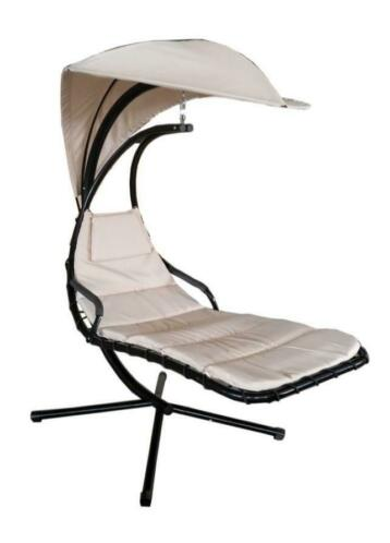Wonderbaarlijk ≥ Hangstoel Modern Lounge Schommelstoel Ligstoel - Crème YL-49