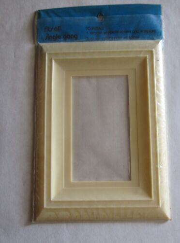 New Old Stock Vintage Leviton Wall Plate Shield Rare Quantity of 10