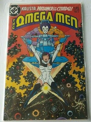 Omega Men #3 DC Comics 1983 1st Appearance of LOBO Giffen Art GREAT CONDITION