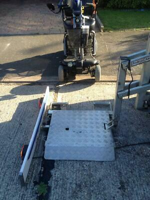 Used, Easy Lifter Hydraulic Tow Bar Mounted Easylifter Carrier Mobility Scooter Bike  for sale  Leigh-on-Sea