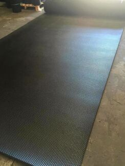 High Quality Horse Float Rubber Matting - 10mm x 2000mm wide