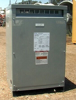25 Kva 1-phase 240480--120240 Transformer Eaton Cutler-hammer Voltage Taps