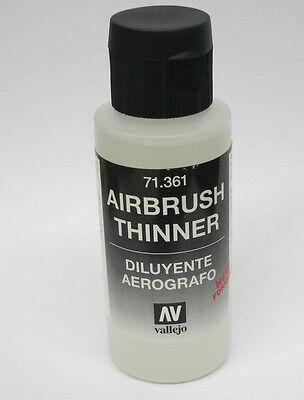 Vallejo Model AIR - AIRBRUSH THINNER 71.361 60ml  MEDIUM BOTTLE 2.02 fl oz