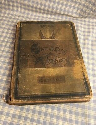 Steel Picture Book (1800's 40 Steel Engravings Book Of Pictures And Painters Of The English)