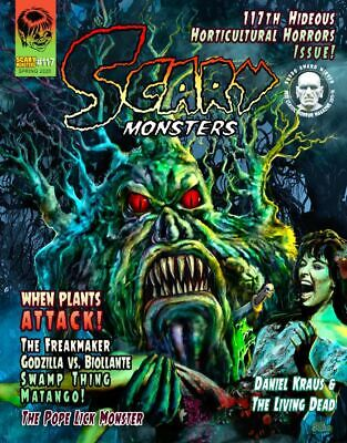 Scary Monsters Magazine #117 Biollante Triffids From Hell It Came Sci-Fi Horror