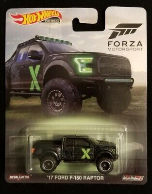 2019 Hot Wheels Premium Forza Motorsport '17 FORD F-150 RAPTOR New Near Mint