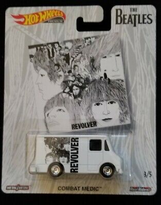 2019 Hot Wheels Pop Culture The Beatles REVOLVER Combat Medic New Near Mint