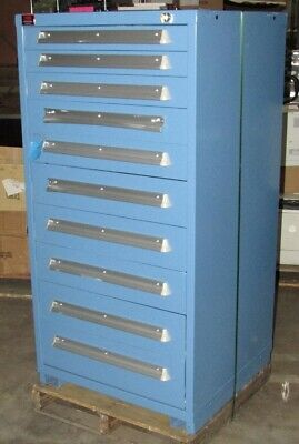 New Lyon 10-drawer Tool Parts Storage Cabinet Scratch And Dent