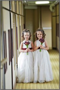 Flower girl dresses x2