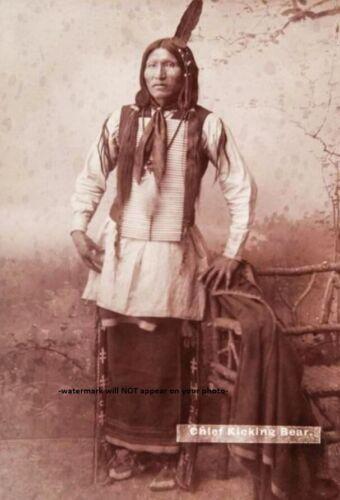 Chief Kicking Bear PHOTO Custer Last Stand, Battle of Little Bighorn Survivor!!!