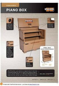 knaack piano serious site tool box (X-large) Casula Liverpool Area Preview