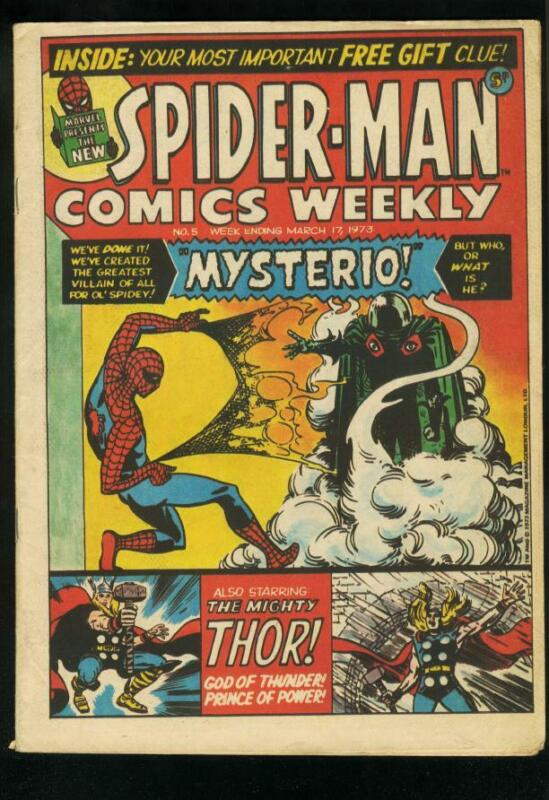 Spider-Man Comics Weekly #5 1973 - Marvel  -FN - Comic Book