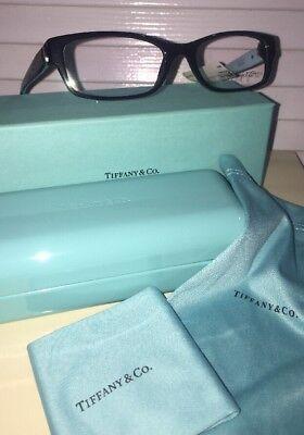 bd26dac6f5a TIFFANY   CO. TF2115 8001 Black   Blue 52 16 140 Eyeglasses Frame