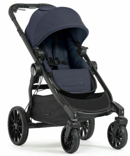 Baby Jogger City Select Lux Compact Fold All Terrain Stroller Indigo Open Box