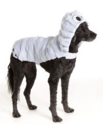 NWT Thrills And Chills Dog Pet Mummy Halloween Costume - Mummy Dog Costume