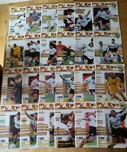 24-Different-Port-Vale-Home-Programmes-1998-99-Bulk-Joblot-57