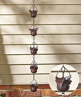 Decorative Iron Dragonfly Rain Chain, New, Free Shipping