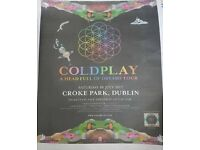 Coldplay Ticket Croke Park
