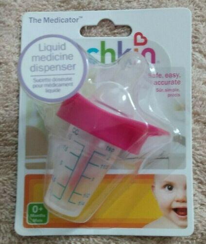 Munchkin The Medicator Baby Liquid Medicine Dispenser Binky Pacifier Pink. New