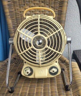 AS Albin Sprengler Heizlüfter Ventilator Vintage Deko Defekt