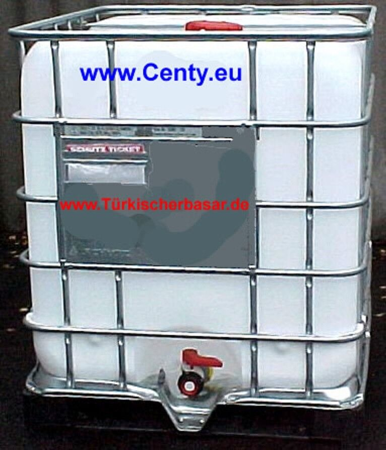 Fassverbindung  Nebeneinander 3 IBC Fässer  1000 l Zubehör Verbindung Kunststoff