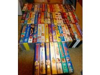 53x Antiques VHS TAPES DISNEY AND OTHERS in excellent condition