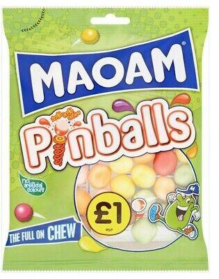 Maoam Pinballs - Full Box of 12 x 160g bags - FREE POSTAGE