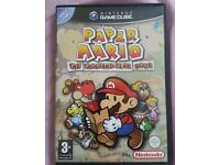 PAPER MARIO GAMECUBE not snes Nintendo game cube ps1 ps2 ps3