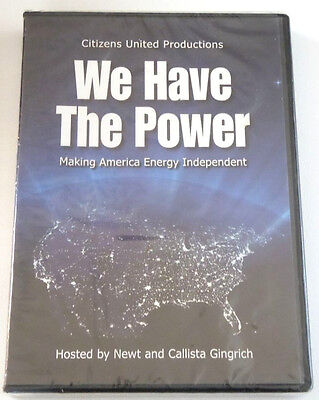New Dvd  We Have The Power   Making America Energy Independent Newt Gingrich