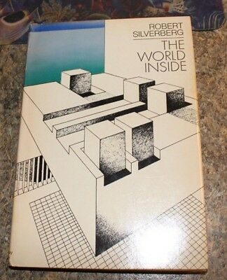 1971 The World Inside Robert Silverberg science fiction HCDJ - f