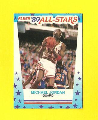 1989 FLEER #3 MICHAEL JORDAN STICKER MINT CENTERED BEAUTY CHICAGO BULLS