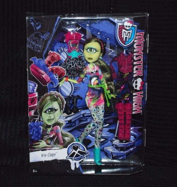 Monster High Iris Clops Doll with Extra Fashion Outfits BNIB