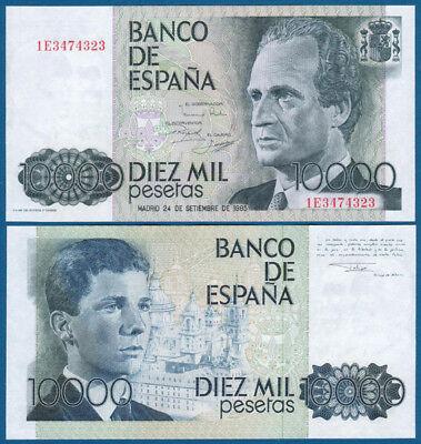 SPANIEN / SPAIN 10.000 Pesetas 1985 UNC  P.161