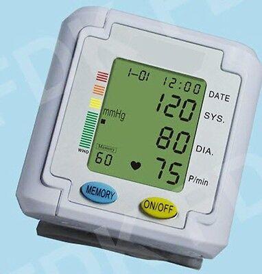 EastShore B11WV Wrist Blood Pressure Monitor w/talking voice/ 3 color alert. FDA