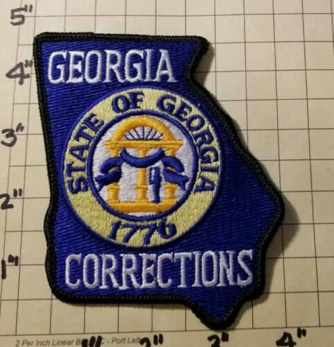 GEORGIA Department of Corrections Patch      ***NEW***