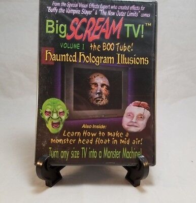Big Scream TV Volume 1 The Boo Tube Haunted Hologram Halloween DVD New](Halloween Holograms)