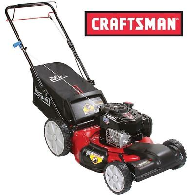"""Craftsman 7.25 163cc 21"""" Gas Front Wheel Drive Self Propelled Lawn Mower High"""
