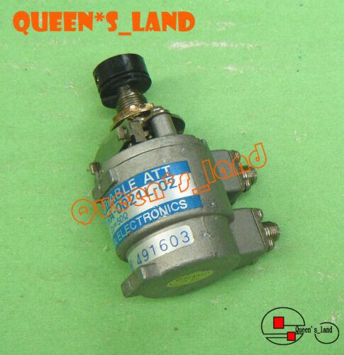 1× TAMAGAWA URA-0021L-02 3GHz 1dB 0.2dB-Step SMA Adjustable Variable Attenuator