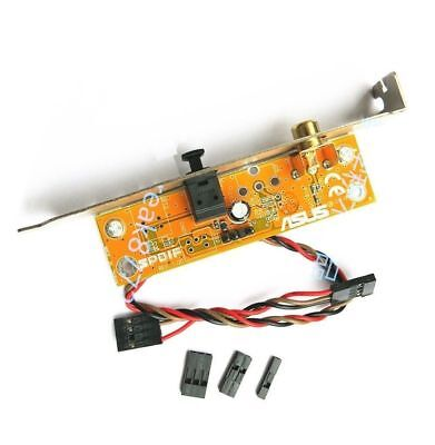 SPDIF RCA Out Motherboard Cable Bracket Plate Cable Bracket for ASUS MSI ECS