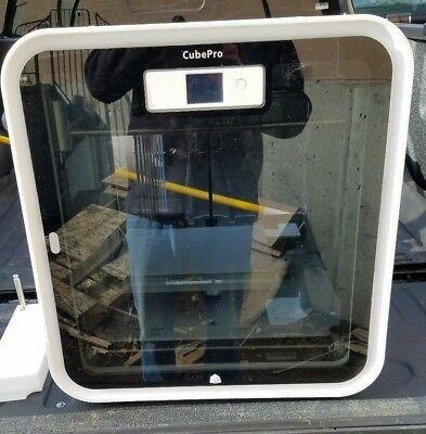 3D Systems Cubepro 3D Printer Model 401733 With 8 Cartidges 401409   401406 01