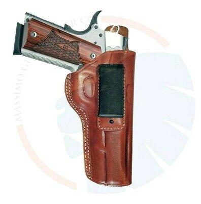 IWB Concealed Carry Leather Belt Holster for Colt 1911 5