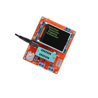 Gm328 Transistor Tester Diode Cap Esr Volt Freq Meter Pwm Signal Generator Diy