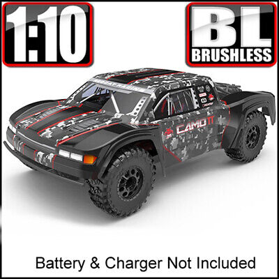Redcat Racing Camo TT Pro 1/10 Scale Brushless Electric RC Trophy Truck Red NEW