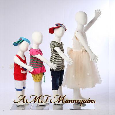 4 Child Mannequins For Xmas Christmas Displayflexible Pinnable4children-r3468