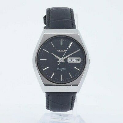 ALBA SEIKO QUARTZ Y504-800A Watch JAPAN
