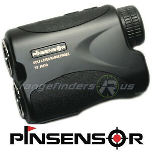 NEW-GOLF-LASER-RANGE-FINDER-WITH-PINSENSOR-PINSEEKER-700-YARD-PS-806XD-BLACK