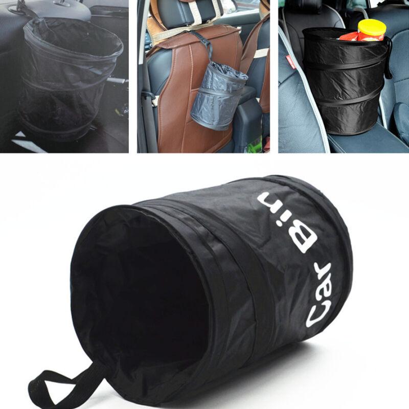 Waterproof  Collapsible Car Double Liner Bin Trash Garbage Dustbin Storage Bag